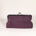 Purple dream large clutch purse