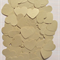 Metallic Gold Heart Table Scatters (300 Hearts)