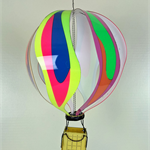 New Brighter Larger Hot Air Balloon Original Mobile Design, Vibrant colours