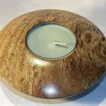 Moreton bay Fig Timber Tealight(large) Holder #art0221