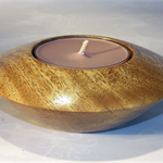 Moreton bay Fig Timber Tealight(large) Holder #art0223