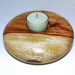 Timber Tea light Holder #art0183