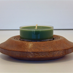 Silky Oak Timber Large Tea light Holder #art0149