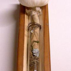 SOFT SCULPTURE FABRIC Mushroom in Test Tube, Toadstool, Fungi, Fungus