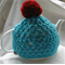 Pom pom Crocheted Tea Cosy
