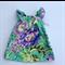 Size 0 - Emerald floral flutter dress, baby, girl