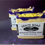 Vegetarian Palm Oil FREE Dragons Blood Cold Process Soap UNISEX Scent