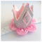 Silver Baby Birthday Crown Headband, Tiara, Cake Smash First Birthday Crown