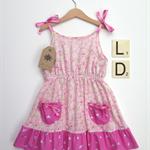 Summer dove dress
