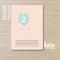 bear balloon - pink invite children's invitation - printable invitation -