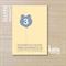 bear balloon - yellow invite boys invitation - printable invitation -