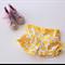 Yellow Apple Garden Shorts - Size 3