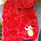 "Red Monster scarf, inspired by ""Elmo"""