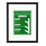 Road Sign Personalised Print