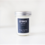 Amazon Lily & Rain Soy Candle : 8oz by Sydney Candle Studio