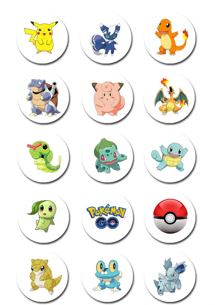 Insane image throughout pokemon cupcake toppers printable
