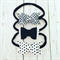 'MONOCHROME' Bow Set - Black - White - Pom Pom - Felt Bow - Baby/Girl Accessory