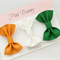 Fabric Hair Bows - Set of 3 Baby / Girls Clips