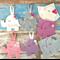 Elephant wall decoration, assorted, newborn gift, pegboard decor, flatlay prop
