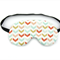 Mint and Coral Arrow Sleeping Eye Mask