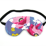 Large Pink Flower Sleeping Eye Mask