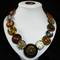 Jungle Jive button necklace