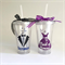 Dress & Title Tumbler; wedding tumbler; cup for bride; Water Bottle; Bride