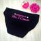 Officially Mrs Undies; wedding underwear; personalised underwear; wedding undies