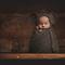 Baby Mouse Bonnet / Unisex Newborn Photography Prop / Newborn Size / Baby Boy