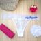 Personalised Bride Undies; Wedding underwear G-String