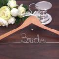 Bride Coat Hanger;wedding coat Hanger; Bride hanger; gift for bride