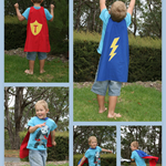 Super Kid Capes Boy or Girl Hero Personalised