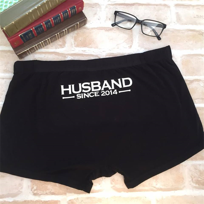 fashion design Sales promotion rich and magnificent Husband Since Year; wedding underwear; personalised ...