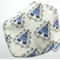 Dribble Bandanna Teepees on Cotton Fabric - So Soft, Bamboo Toweling, with Snaps