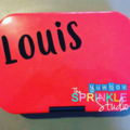 MEDIUM 12CM ADHESIVE VINYL NAME LABEL