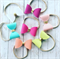 Spring Bow Headband/Clip - Solid Colour - Metallic Gold - Pick Your Colour