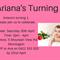Baby Girl's 1st Birthday Invitation (Digital File)