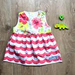 Size 0 - Dress - Floral / Watermelon Wave