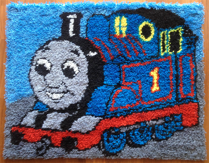 Latch Hook Kit Thomas The Tank Engine 50x65 Cm Hatch