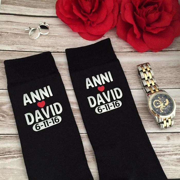 Cold feet socks; personalised wedding socks;wedding socks; groom ...