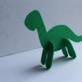 Felt 3D Dinosaur Set