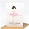 Birthday Card Girl - Ballerina - HBC204