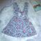 Girls Babies Floral Supender Skirt