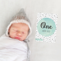 Watercolour Unisex Baby Moments and Milestones Cards - 31 Pack