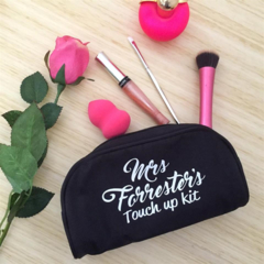 Makeup purse; personalised makeup bag; brides gift; bridal party gift;