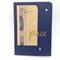 Handmade Card - Navy, 'Peace'