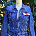 Obi silk denim jacket
