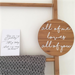 All Of Me Wall Plaque