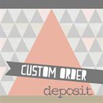 Custom Order Deposit: Rowena Handbag for Petie Moore