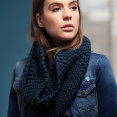 May Scarf knitting pattern